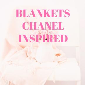 BLANKETS CHANEL INSPIRED