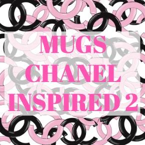 COFFEE MUGS CHANEL INSPIRED 2