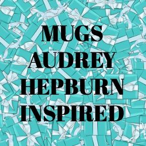 COFFEE MUGS AUDREY HEPBURN INSPIRED