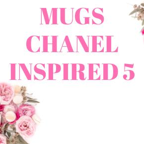 COFFEE MUGS CHANEL INSPIRED 5