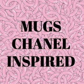 COFFEE MUGS CHANEL INSPIRED