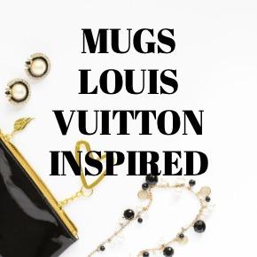COFFEE MUGS LOUIS VUITTON INSPIRED
