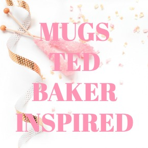 COFFEE MUGS TED BAKER INSPIRED
