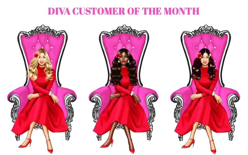Vintage Chic Diva Diva Customer Of The Month