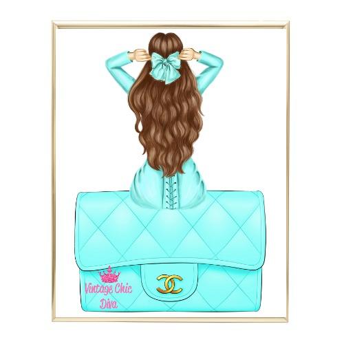 Aqua Glam Fashion Girl Set11 Wh Bg-