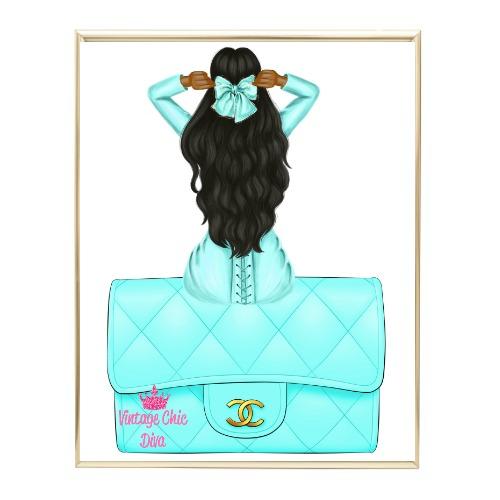 Aqua Glam Fashion Girl Set15 Wh Bg-