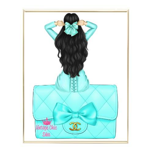 Aqua Glam Fashion Girl Set17 Wh Bg-
