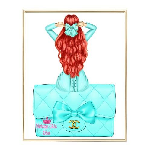 Aqua Glam Fashion Girl Set19 Wh Bg-