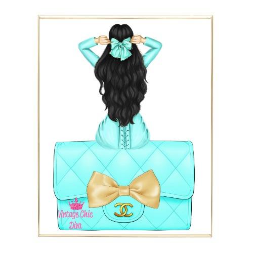 Aqua Glam Fashion Girl Set22 Wh Bg-