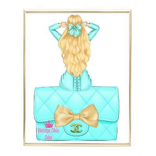 Aqua Glam Fashion Girl Set23 Wh Bg-