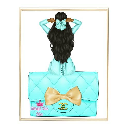 Aqua Glam Fashion Girl Set25 Wh Bg-