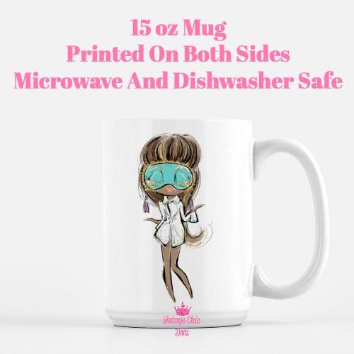 Audrey Doll4 Coffee Mug-