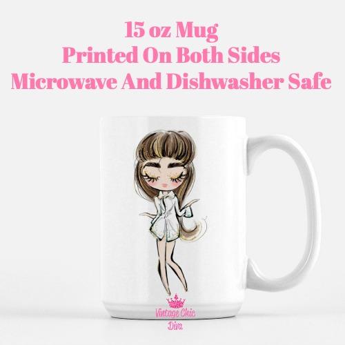 Audrey Doll5 Coffee Mug-