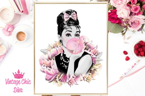 Audrey Floral Clear White Background-