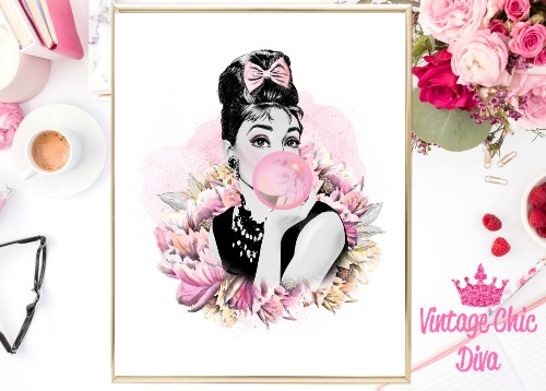 Audrey Floral White Background-