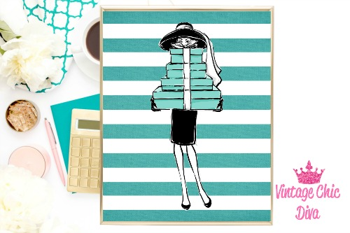 Audrey Gifts Teal White Stripe Background-