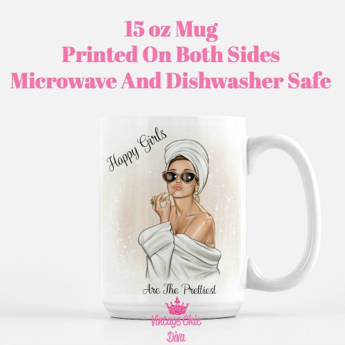 Audrey Happy Girls Coffee Mug-