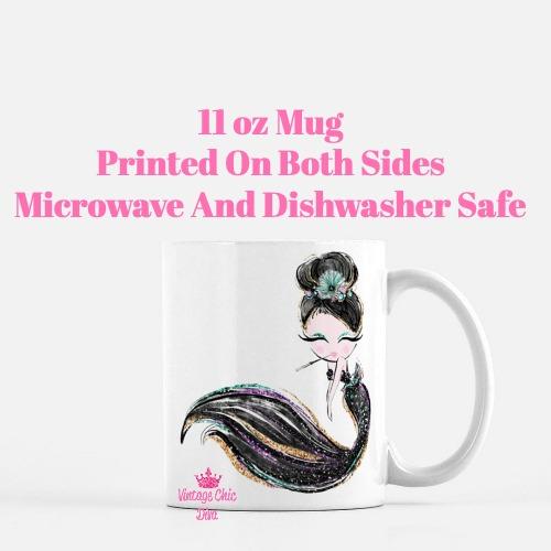 Audrey Mermaid10 Coffee Mug-