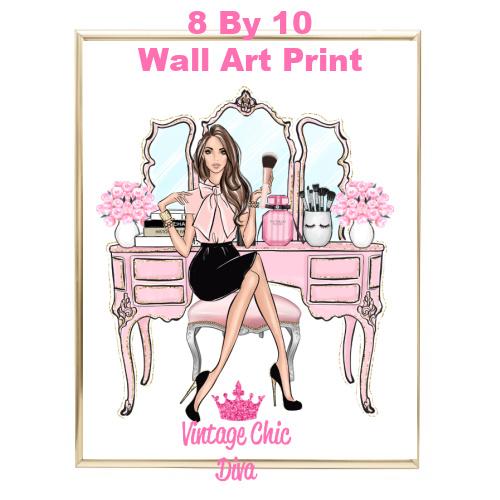 Blush Makeup Girl Vanity3-