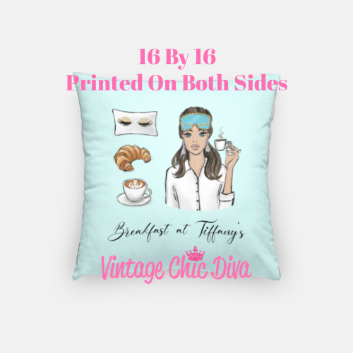 Breakfast At Tiffanys Girl1 Pillow Case-