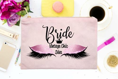 Bride Pink Eyes Pink-