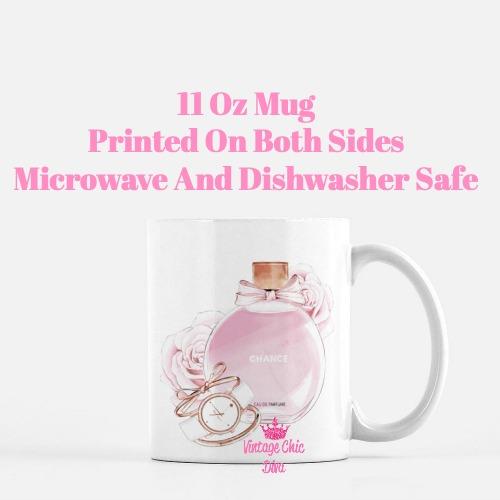 Chanel Chance Pink Perfume Set1 Coffee Mug-
