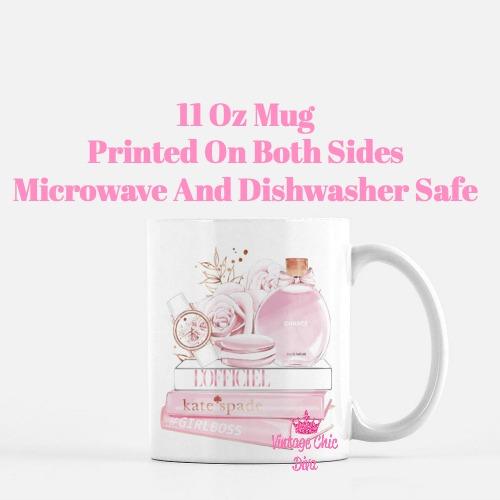 Chanel Chance Pink Perfume Set6 Coffee Mug-
