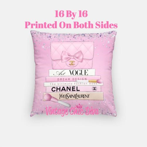 Chanel Handbag Set2 Pillow Case-