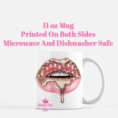 Diamond Lips1 Coffee Mug-