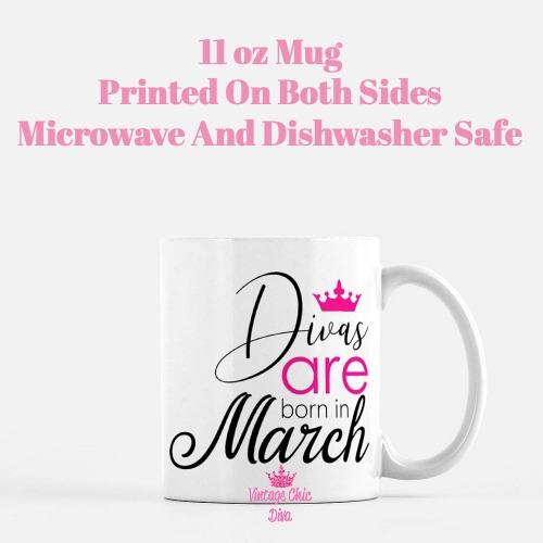 Divas Are Born3 Coffee Mug-
