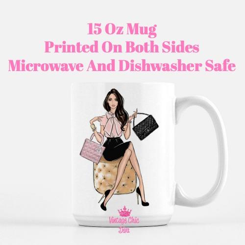 Fashion Girl Closet1 Coffee Mug-