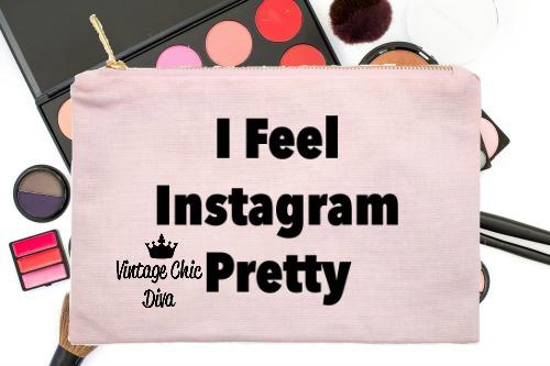 I Feel Instagram Pretty Pink-