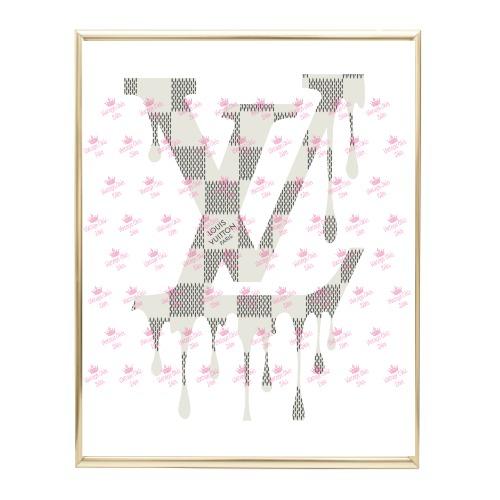 Louis Vuitton Logo4 Wh Bg-