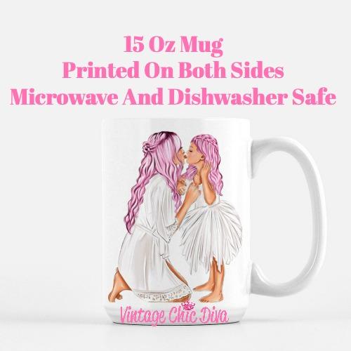 Mom Daughter Set38 Coffee Mug-