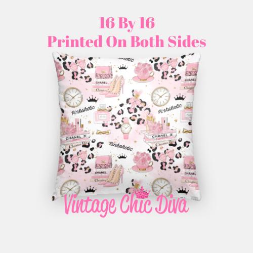 Pinkaholic10 Pillow Case-