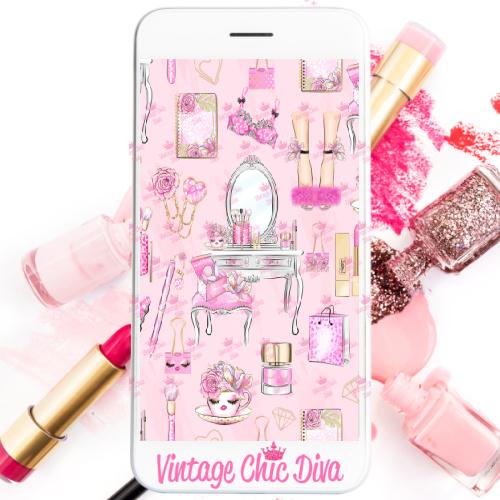 Pinkaholic1 Phone Wallpaper-
