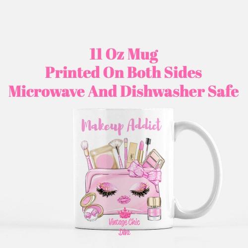 Pinkaholic Makeup Bag Set7 Coffee Mug-