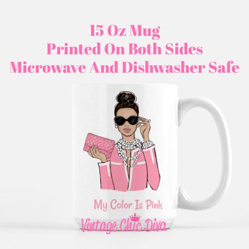Pink Girl Boss1 Coffee Mug-
