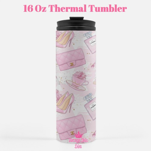 Pink Glam10 Tumbler-