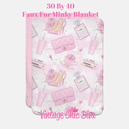 Pink Glam14 Blanket-