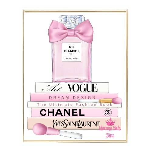 Pink Glam Set14 Wh Bg-