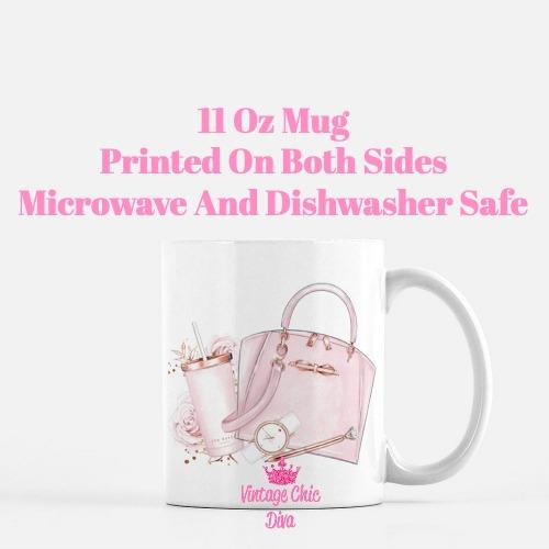 Ted Baker Handbag Set2 Coffee Mug-