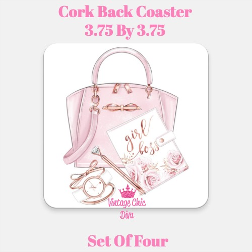 Ted Baker Handbag Set4 Coaster-