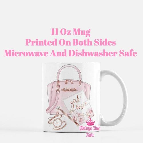 Ted Baker Handbag Set4 Coffee Mug-