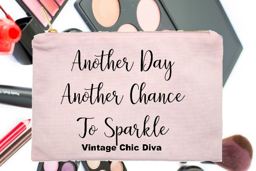 Another Day Another Chance To Sparkle Pink-