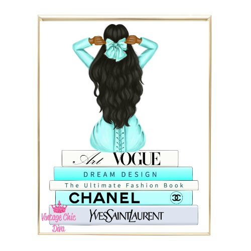 Aqua Glam Fashion Girl Set10 Wh Bg-