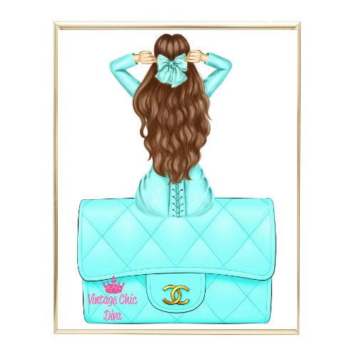 Aqua Glam Fashion Girl Set11 Wh Bg-