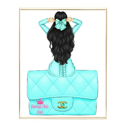 Aqua Glam Fashion Girl Set12 Wh Bg-