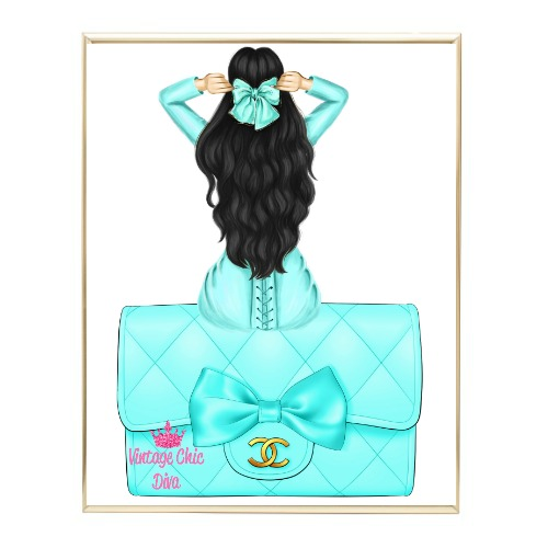 Aqua Glam Fashion Girl Set17 Wh Bg-