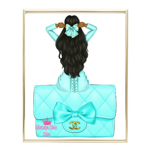 Aqua Glam Fashion Girl Set20 Wh Bg-
